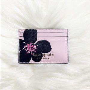 Kate Spade || Cameron Grand Flora Slim Card Holder